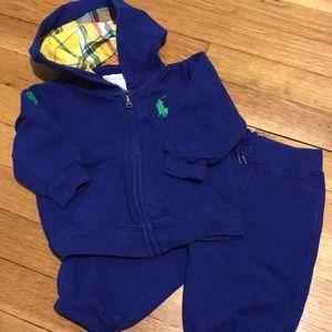Ralph Lauren Baby Boy Sweat Suit